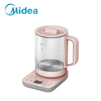 美的多功能煮茶家用高硼硅玻璃养生电水壶GE1507