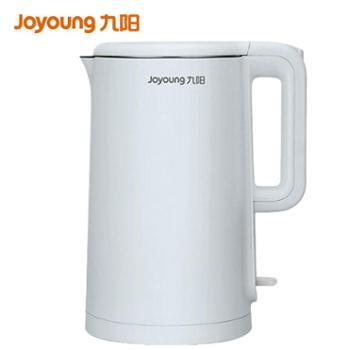九阳/Joyoung 大容量1.7L不锈钢双层保防烫家用电水壶 K17-F30