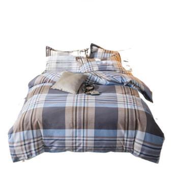 罗莱雅 北欧全棉保暖磨毛四件套 棉