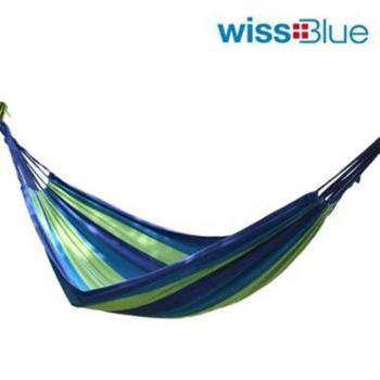 维仕蓝/wissblue单人双人加厚帆布吊床WA8053