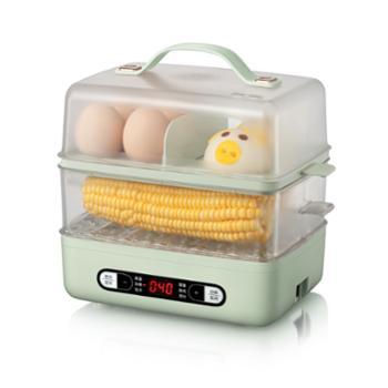 小熊/Bear煮蛋器双层蒸蛋早餐机ZDQ-B06E1