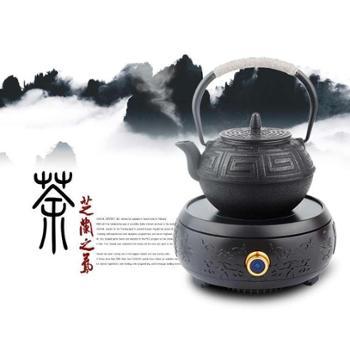巧茗Q3PC材质红外线无辐射电陶炉不挑锅 不挑壶 煮茶炉家用烧水壶电磁炉电陶炉