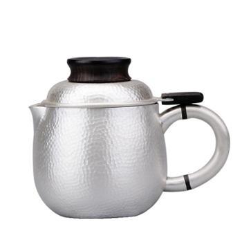 公道杯【3款色可选】 纯银食用级雪花银功夫泡茶壶银壶茶具泡茶杯足银快客杯