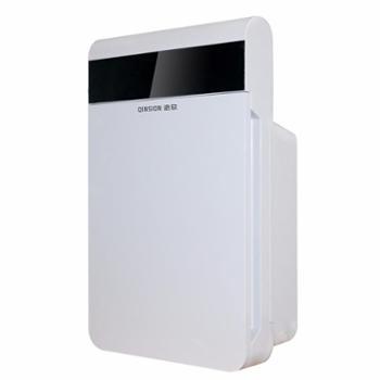 沁欣QX-300空气净化器pro空气循环 家用卧室静音智能氧吧 除甲醛雾霾粉尘屏幕显示