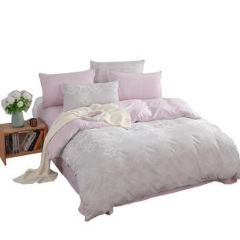 金丝莉 好睡眠水洗套件 家纺四件套 云中花海 水洗棉