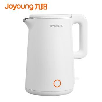 九阳 304不锈钢电水壶家用烧水壶开水煲大容量17升电热水壶双层防烫K17F25