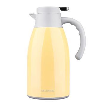德鲁曼保温壶1.7L304不锈钢真空保温瓶 大容量热水壶【2色可选】