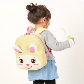 卡拉羊幼儿园书包女1-3岁宝宝3-6岁儿童书包双肩防走失背包防丢失6050