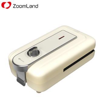 卓朗Zoomland 多功能轻食机 ZL-SWT01 三明治机