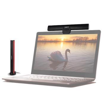 iKANOO/卡农笔记本显示器USB有源声卡小音箱长条音响卡农c2