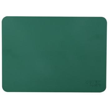 得力(deli) 印章垫 橡胶垫17cm 财务银行柜台专用敲章垫 9878方形