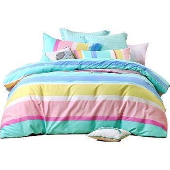 南方寝饰纯棉四件套全棉床品1.8m床上用品被套床单三件套1.5米