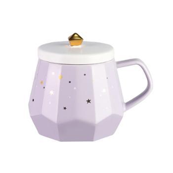 COSTA钻石异形陶瓷杯355ml