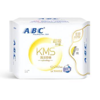 ABC卫生巾KMS棉柔超日用1包8片