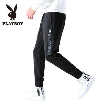 PLAYBOY/花花公子运动裤男小脚裤休闲裤SYPB607