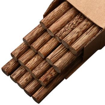 喀斯特 鸡翅木筷 10双装 无漆无蜡 纯天然 无添加抑菌 不易变形 安全健康
