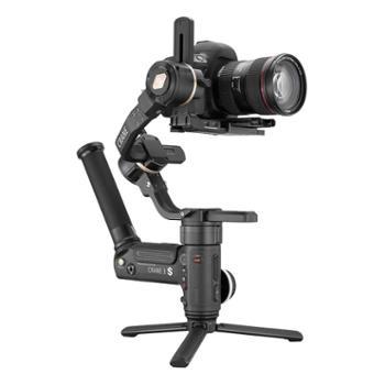 智云/ZHIYUN 手持云台相机摄影机稳定器 简易手柄微单单反稳定器 Crane云鹤3S