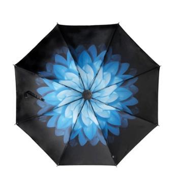 海螺超强防晒小黑伞创意伞晴雨两用