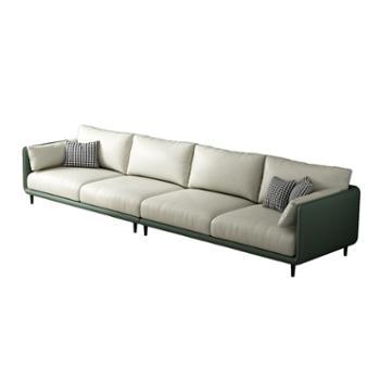 科莱斯克现代简约布艺乳胶布科技布组合沙发