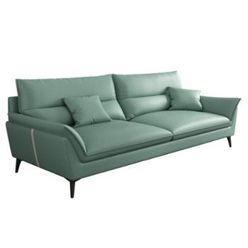 科莱斯克北欧科技布三四人座客厅家具组合型沙发