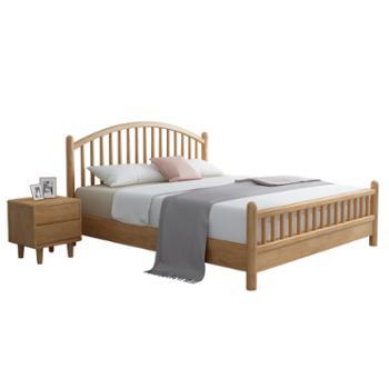 科莱斯克现代简约1.8米1.5m日式双人床