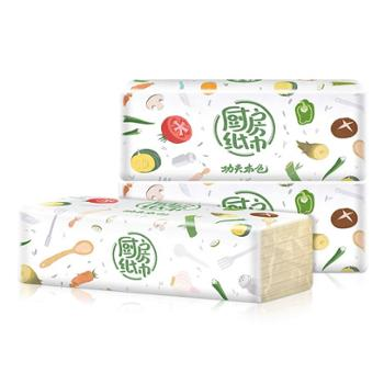 植护厨房用纸吸水吸油纸抽纸3包装