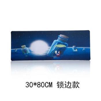 梦天大鼠标垫超大号键盘垫游戏动漫学生书桌垫可爱女生办公电脑垫300*800mm
