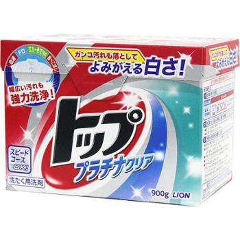 LION狮王top除菌祛味超浓缩洗衣粉900g