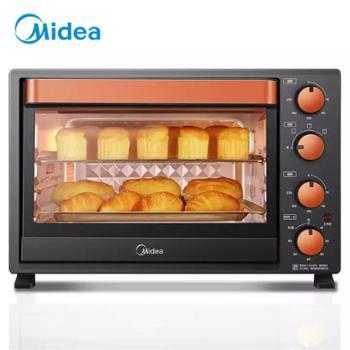美的多功能烘焙电烤箱32升T3-L326B