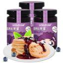 沃林蓝莓果粒果酱180g*3瓶 蓝莓果酱 面包酱 沙拉配料 扶贫馆