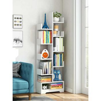 简易书架落地儿童简约现代书柜经济型桌上小置物架