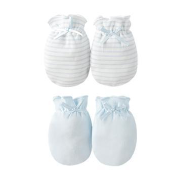 Goodbaby/好孩子婴儿防抓手套新生儿0-3-6个月透气护手套