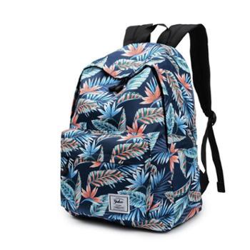 芙拉迪时尚韩版印花背包防水大容量双肩包FBG01-7012