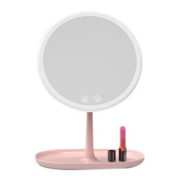LED化妆镜带梳妆补灯光送五倍镜
