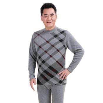 xoidol 中老年保暖棉秋衣秋裤 加厚加绒加大码套装