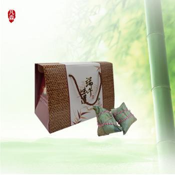 凡森端午味道纯手工粽子礼盒 3种口味130g*8枚装