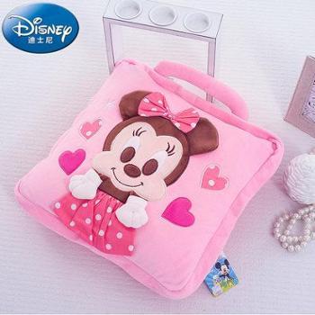 Disney/迪士尼毛毯抱枕被儿童卡通毛毯宝宝午睡毯空调毛毯被夏