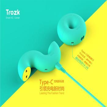TROZK/特洛克 甜甜圈智能移动插座 旅行搭讪神器多功能usb充电器 002