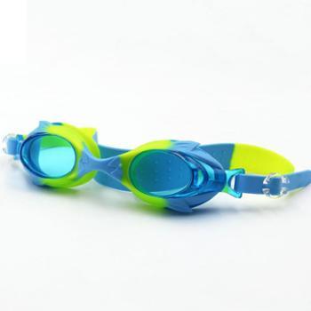 GRiLong儿童游泳眼镜高清防雾密封防水硅胶卡通可爱款JG-4600
