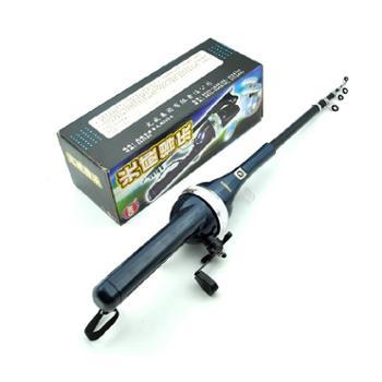 光威钓得乐可折叠海竿套装便携式超短节钓鱼竿抛竿