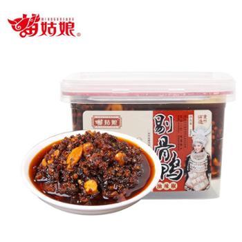 苗姑娘 贵州特色剔骨鸭油辣椒酱 380g/盒