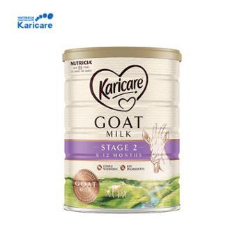 新西兰Karicare可瑞康婴幼儿羊奶粉2段900g适用于7-12个月宝宝2022年4月到期新西兰原装进口