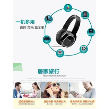漫步者 K815 头戴式耳机电脑重低音游戏耳麦带麦