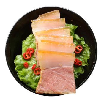 中国农谷湖北特产风干腊肉五花肉咸肉土猪肉农家自制500g