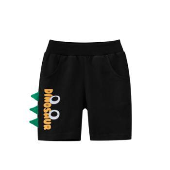 馨霓雅男童夏款卡通棉质短裤6255