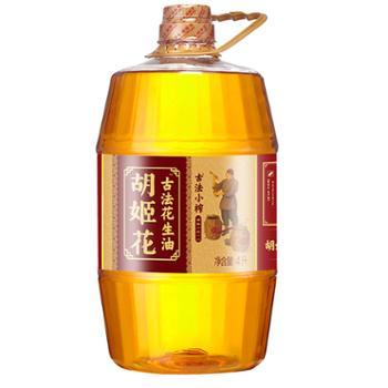 胡姬花 古法小榨花生油 食用油 4L