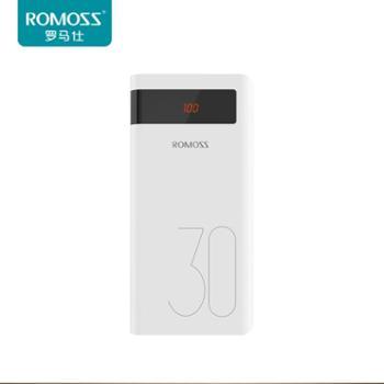 罗马仕sense8充电宝30000mAh毫安快充大容量移动电源冲苹果iPhone华为oppo小米vivo通用罗马士式