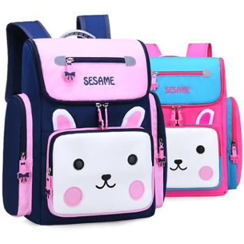 芝麻宝贝书包小学新款韩版幼儿园女童女孩可爱卡通书包儿童护脊减负双肩包719