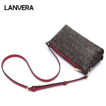 LANVERA/朗薇女包单肩斜挎包妈妈中年包L5120-1