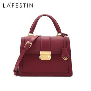LaFestin/拉菲斯汀女包单肩斜挎手提包结婚新娘包620261